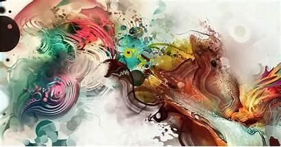 Japanese Abstract Desktop Cool Artwork Dance Brush