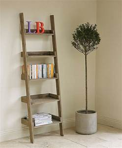 Recycle, Wood, Ladders, Decorative, U2013, Loccie, Better, Homes, Gardens, Ideas