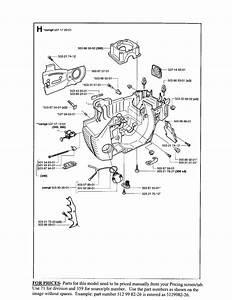 Husqvarna 41 Chainsaw Parts Diagram