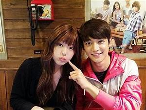 SHINEE's Minho and f(x)'s Sulli share a cute couple shot ...