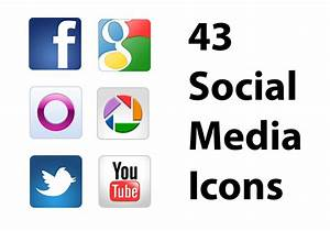 Free Social Media Icons PSDs