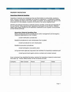 sample business continuity plan template free download With business resumption plan template