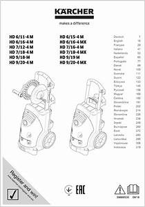 Karcher 721 Mx Manual