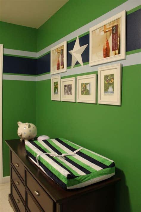 Wandgestaltung Kinderzimmer Grün Blau by 1001 Frische Ideen F 252 R Wandfarbe In Gr 252 N Farbtrend 2017