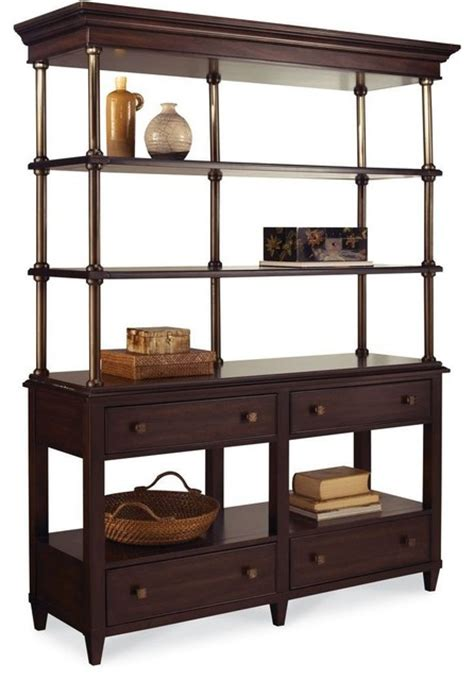 Entertaining Etagere by A R T Furniture Intrigue Entertainment Etagere