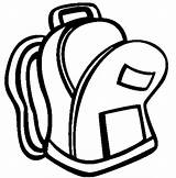 Backpack Open Coloring Pages Easy Print Button Using Grab Well sketch template