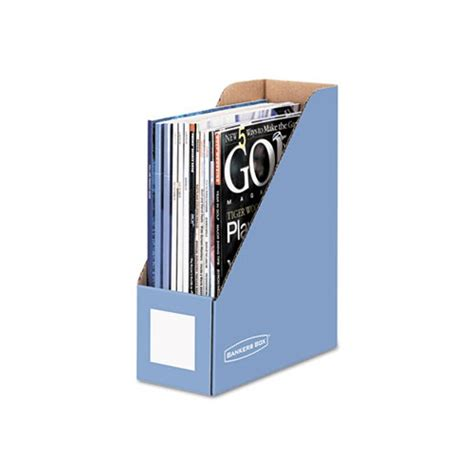 bankers box decorative magazine file bankers box decorative magazine file fel6110101