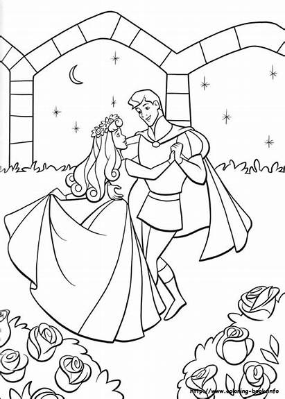Coloring Sleeping Beauty Pages Odd Dr