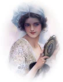 Vintage Beautiful Victorian Lady