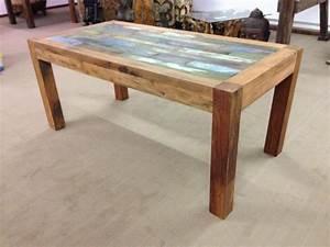 Massivholz Esstisch Elegant Esstisch Aus Recyceltem Holz
