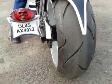 Bike Modification Work In Chandigarh by Bike Modification India Rockstar Chopper Harley