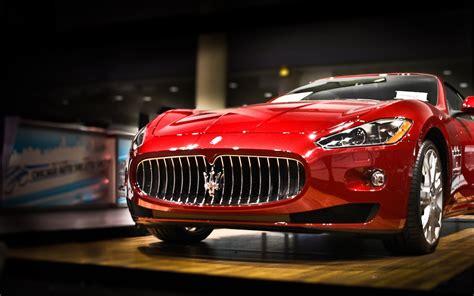Maserati, Car, Red 1920x1200