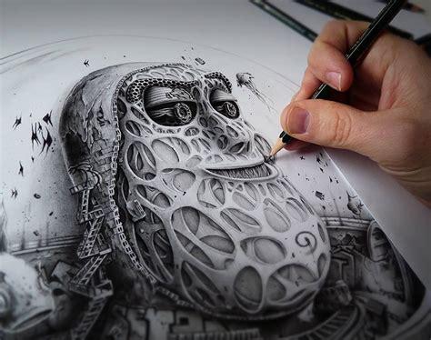 Incredible Pencil Drawings on Paper by PEZ FREEYORK