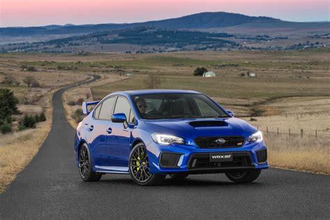 Subaru Gives Hot Wrx Pair Model Year Update