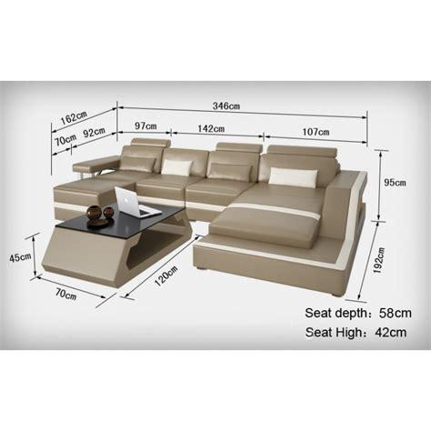 dimension canapé superior canape demi lune 11 canape d angle en cuir