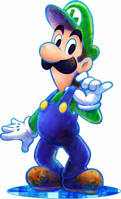 Luigi Dream Team Mario Super Wiki Nintendo