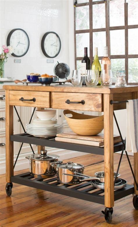 moveable kitchen islands plans for a portable kitchen island woodworking projects