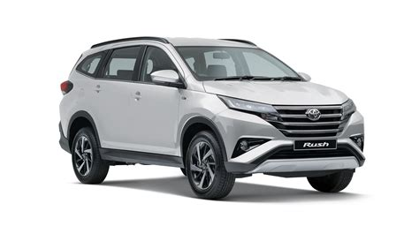 vehicle ranges rush mccarthy toyota