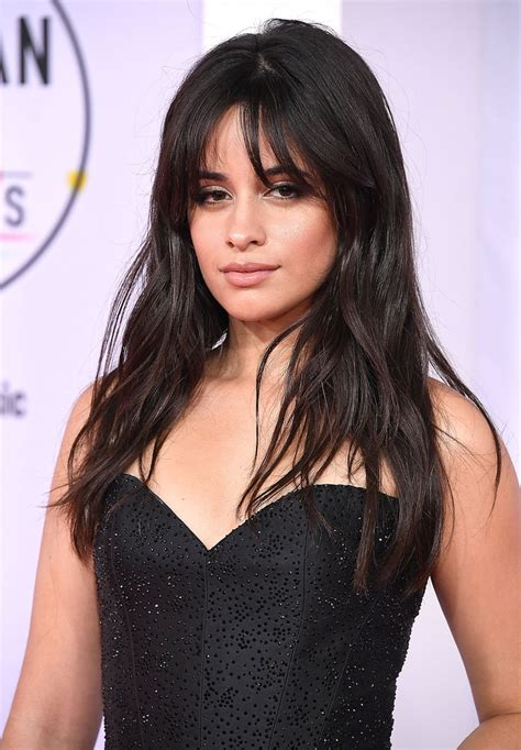 Camila Cabello Bangs Easiest Way Style