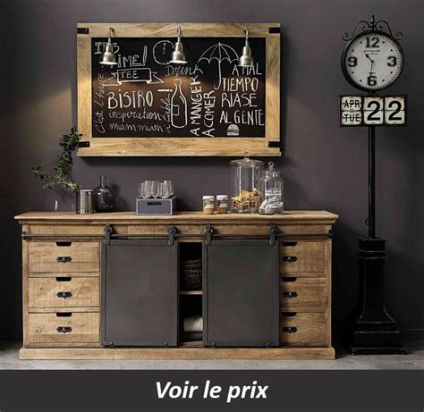 le bon coin meubles de cuisine occasion buffet industriel maison du monde gallery of beautiful