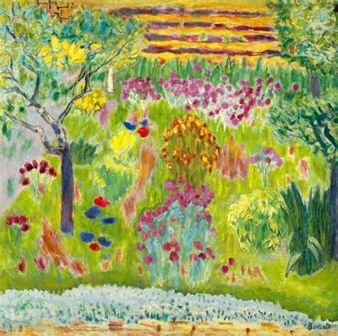 garden  pierre bonnard paper print met custom prints