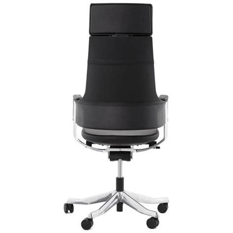 fauteuil bureau cuir noir fauteuil de bureau design ergonomique cuba en cuir noir