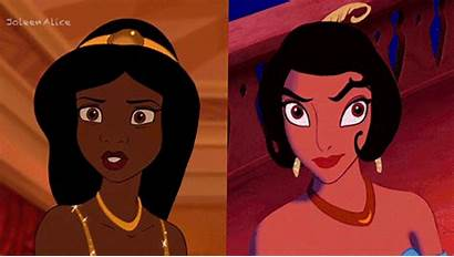 Jasmine Tiana Swap Disney Aladdin Let Princess