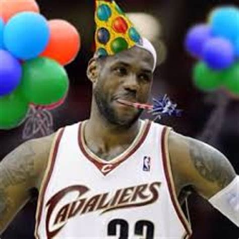 Cavs River Deck Birthday by Wishing King A Happy Birthday But We Received The Gifts