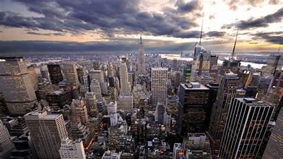 Rascacielos York Nueva Fondos Pantalla