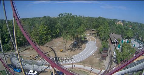 Kings Dominion Halloween Haunt 2016 by Newsplusnotes Mystic Timbers Begins To Rise At Kings Island