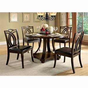 Furniture of america lafayette 5 piece dining set idf for At home furniture lafayette la