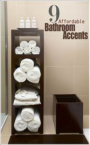 creative diy bathroom towel storage ideas With storing towels in the bathroom