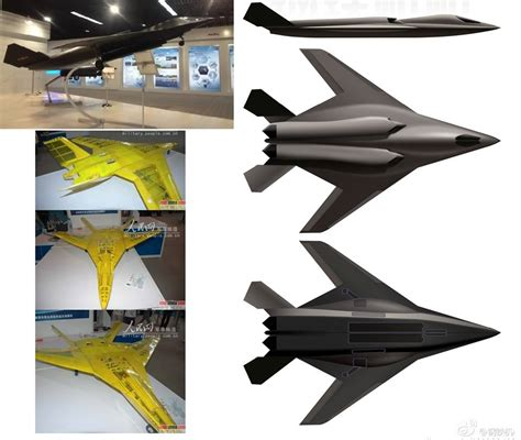 Possible Pics Of China's New Strike Aircraft