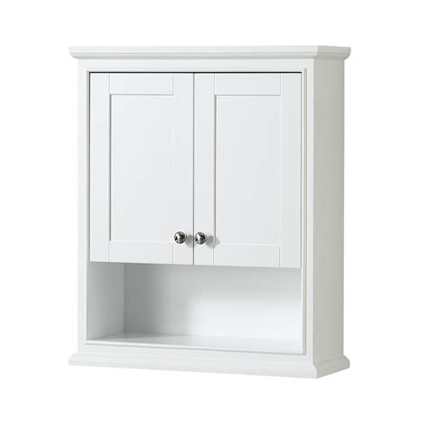 modern bathroom wall cabinet deborah over toilet wall cabinet by wyndham collection