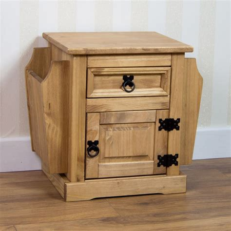 Crafted from solid pinewood, the side table is st. Corona Solid Pine Mexican Living Room Furniture Coffee Table By Home Discount   eBay