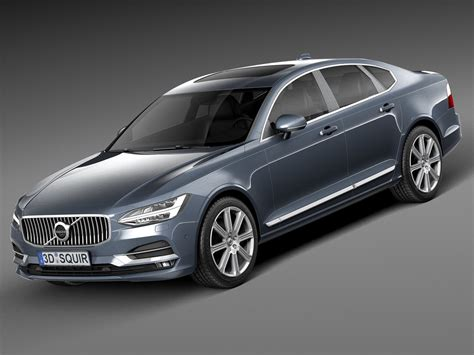 S90 Hd Picture by 2017 S90 3d Model