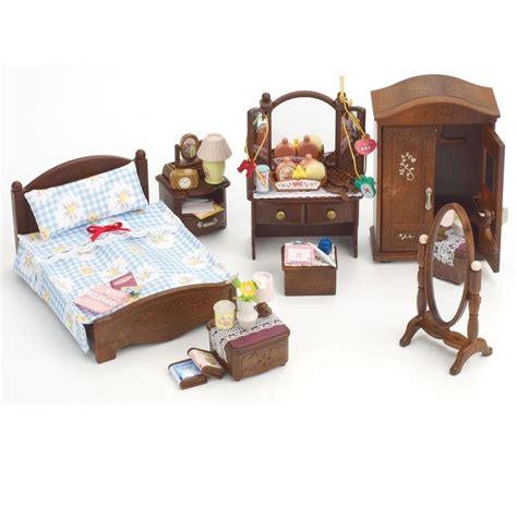 toys sylvanian families deluxe master bedroom set cheekii playmobile calico
