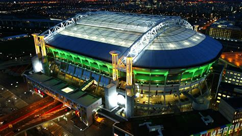 full hd wallpaper amsterdam arena aerial view netherlands