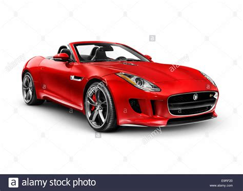 Jaguar F Type Backgrounds by 2014 Jaguar F Type S Luxury Sports Car Isolated On