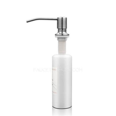 soap dispensers for kitchen sinks kitchen sink soap dispenser plastic bottle 8152
