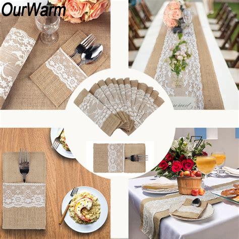 OurWarm Boho Rustic Wedding Decor Invitation Card Table