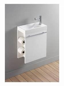 lave mains complet avec meuble design blanc et With salle de bain design avec meuble vasque lave main