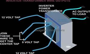 How To Make A Simple 200 Va  Homemade Power Inverter