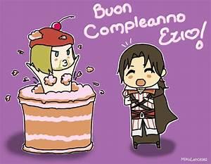 Happy Birthday Ezio! by MikuLance382 on DeviantArt