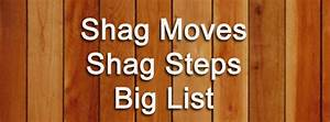 List Of Shag Moves And Steps