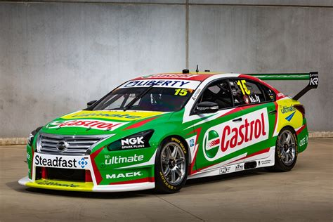 kelly racing uncovers  castrol altima speedcafe