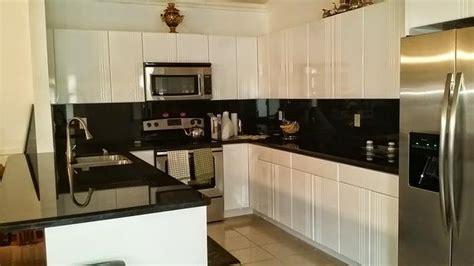 transitional kitchen  hialeah gray ceramic tile