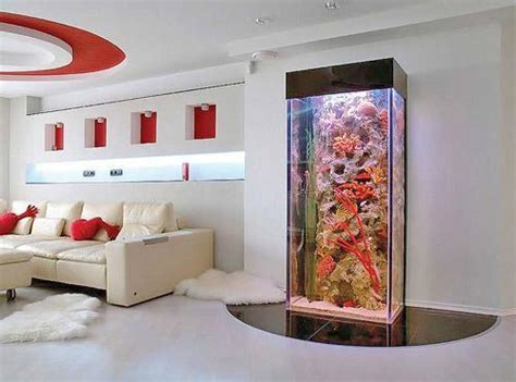 spectacular aquariums personalizing interior design with colorful glass fish tanks