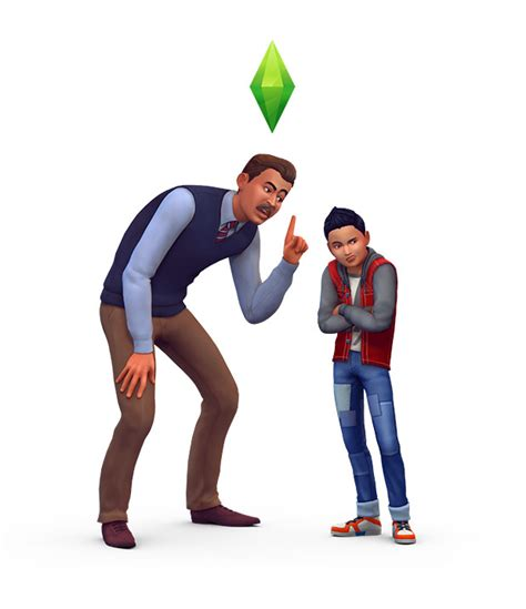 sims  parenthood game pack  renders