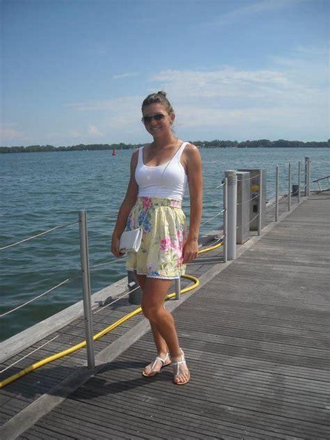 Simona Halep Does Yoga In Singapore   WTA Tennis